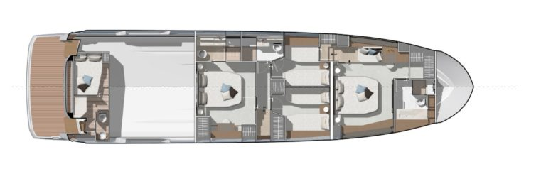 PRESTIGE-X70 - -Layout-4-Cabins