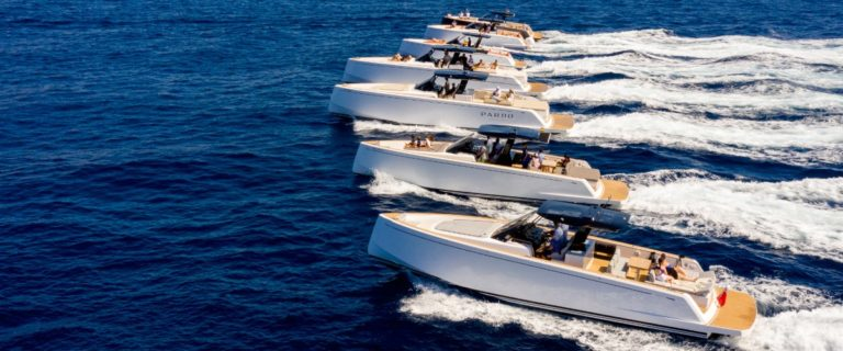 Pardo Yachts boats on board